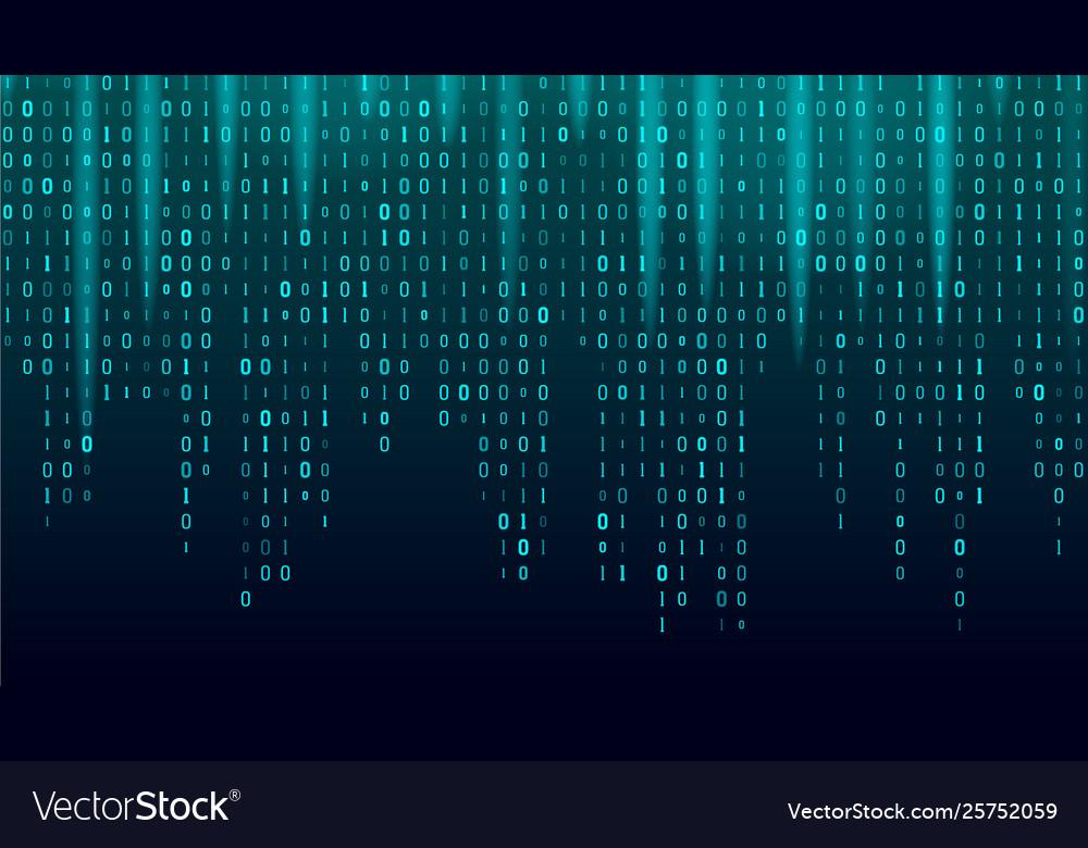 Creative stream of binary code algorithm