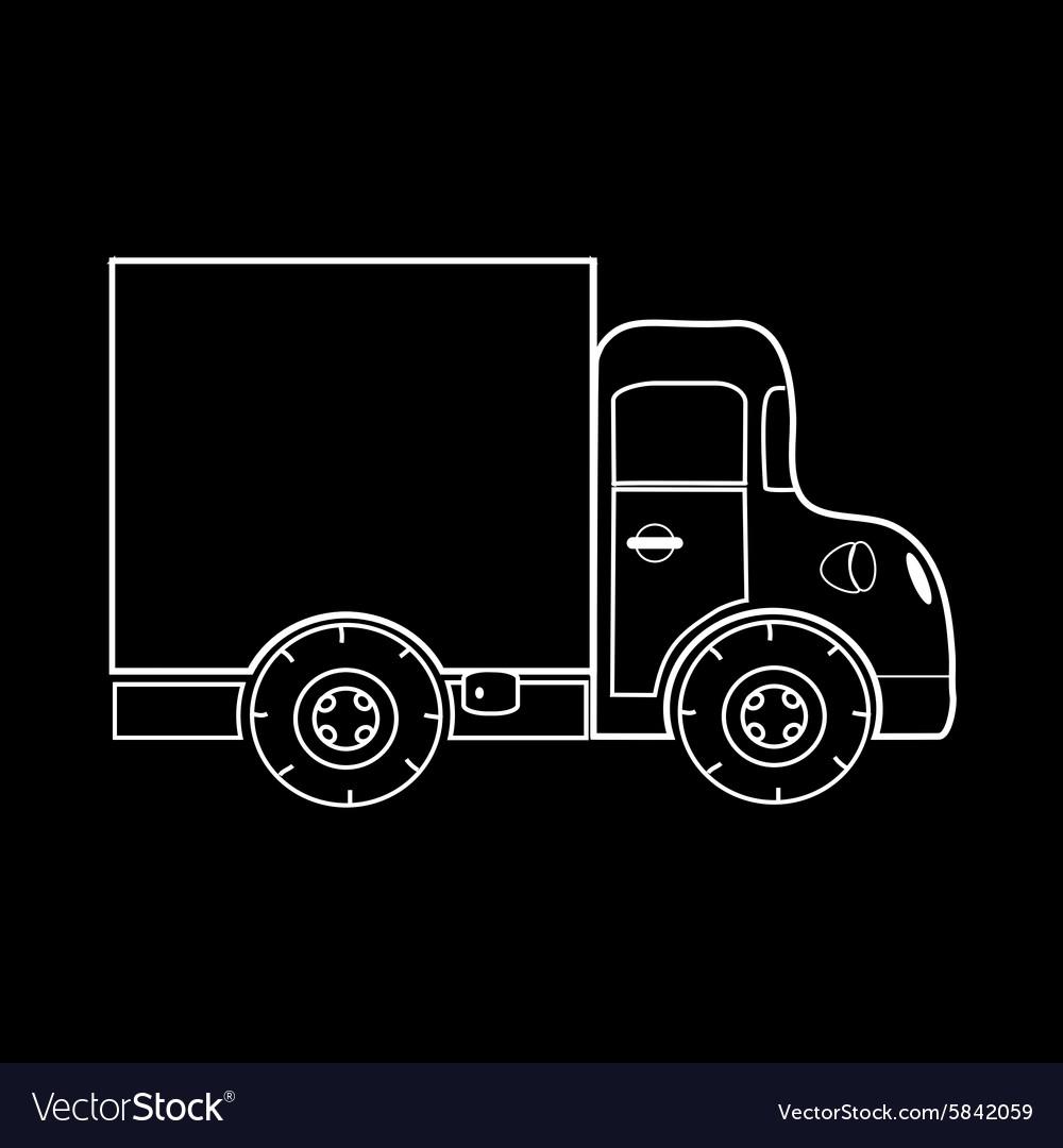 Mini truck for transportation of small loads