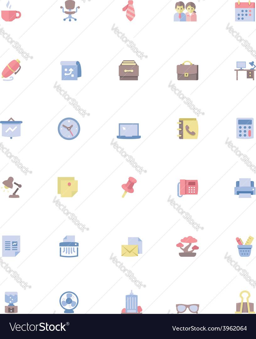Office icon set