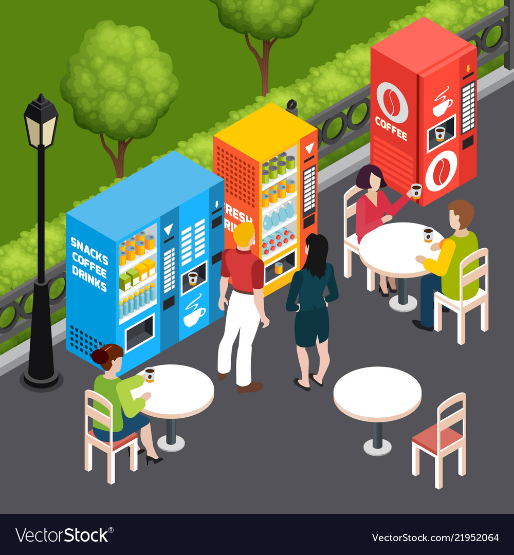 Vending machines isometric