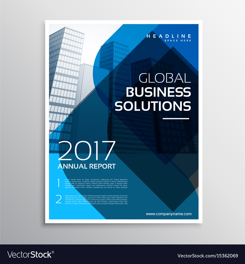 company business flyer poster design in size a4 vector image