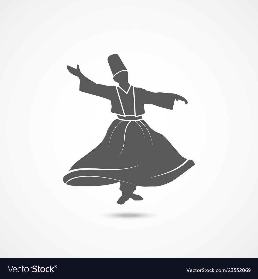 Dervish dance icon