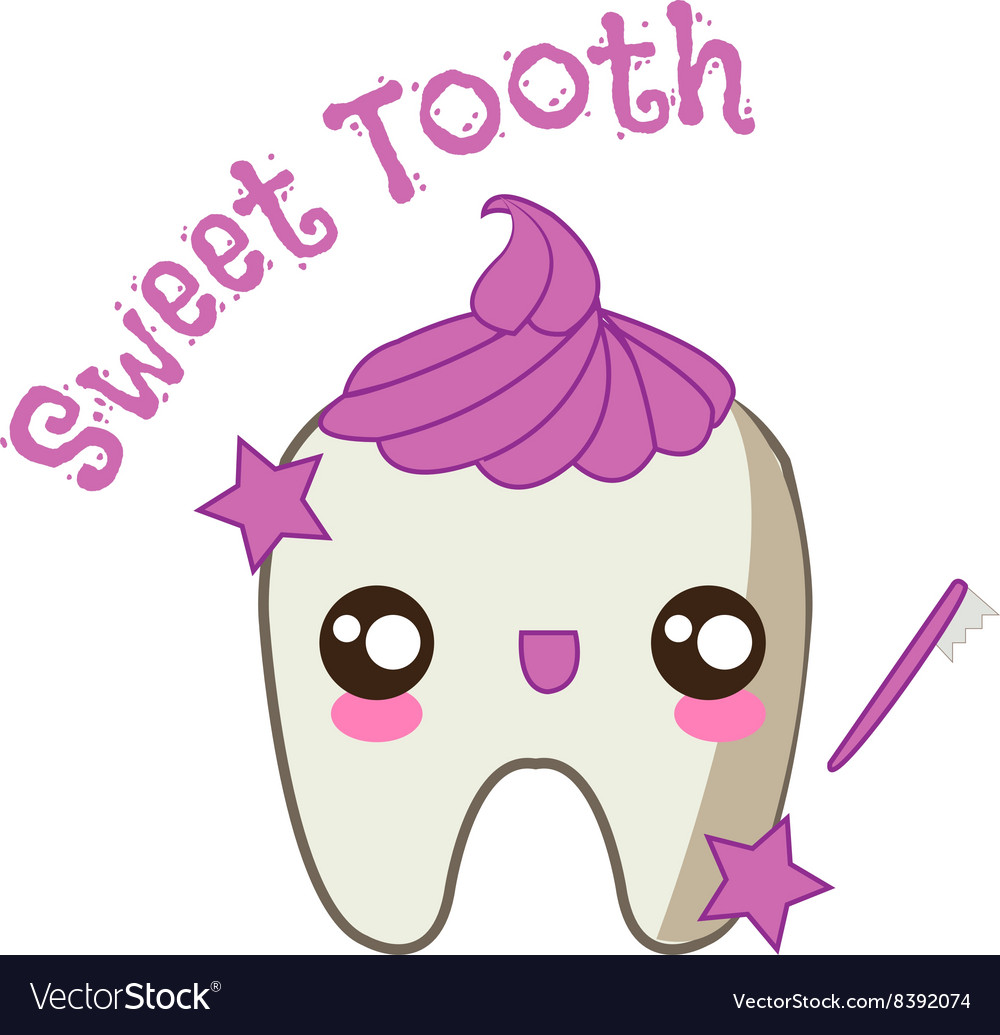 Sweet Tooth vector image