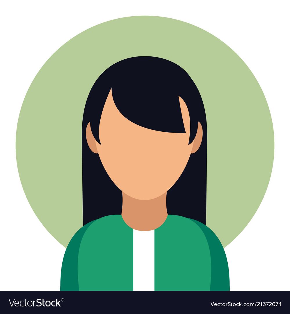 Woman avatar profile