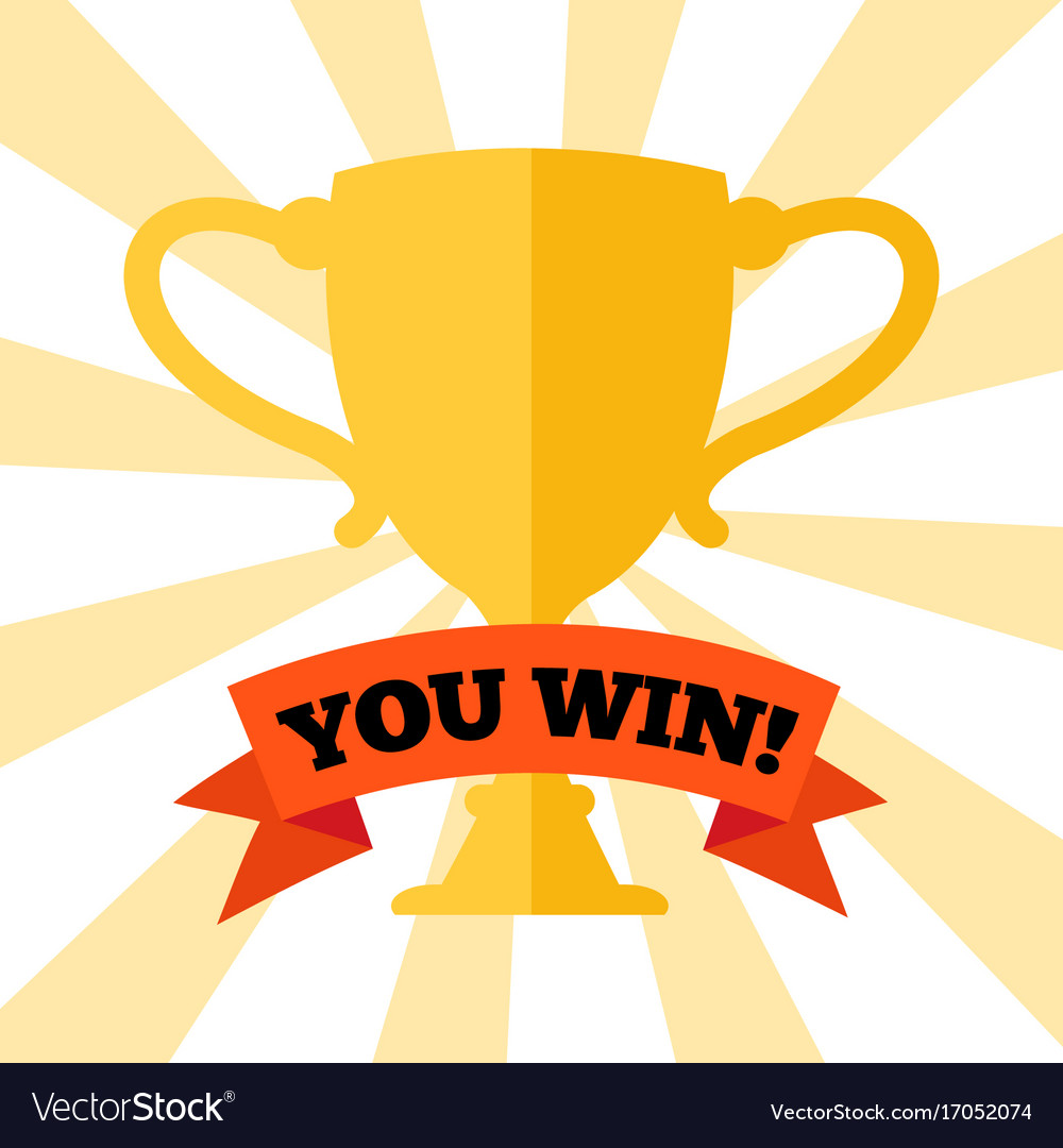 you-win-poster-with-prize-cup-vector-170