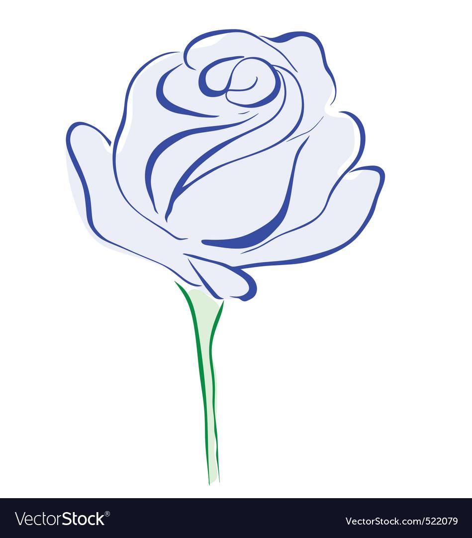 Rose blue