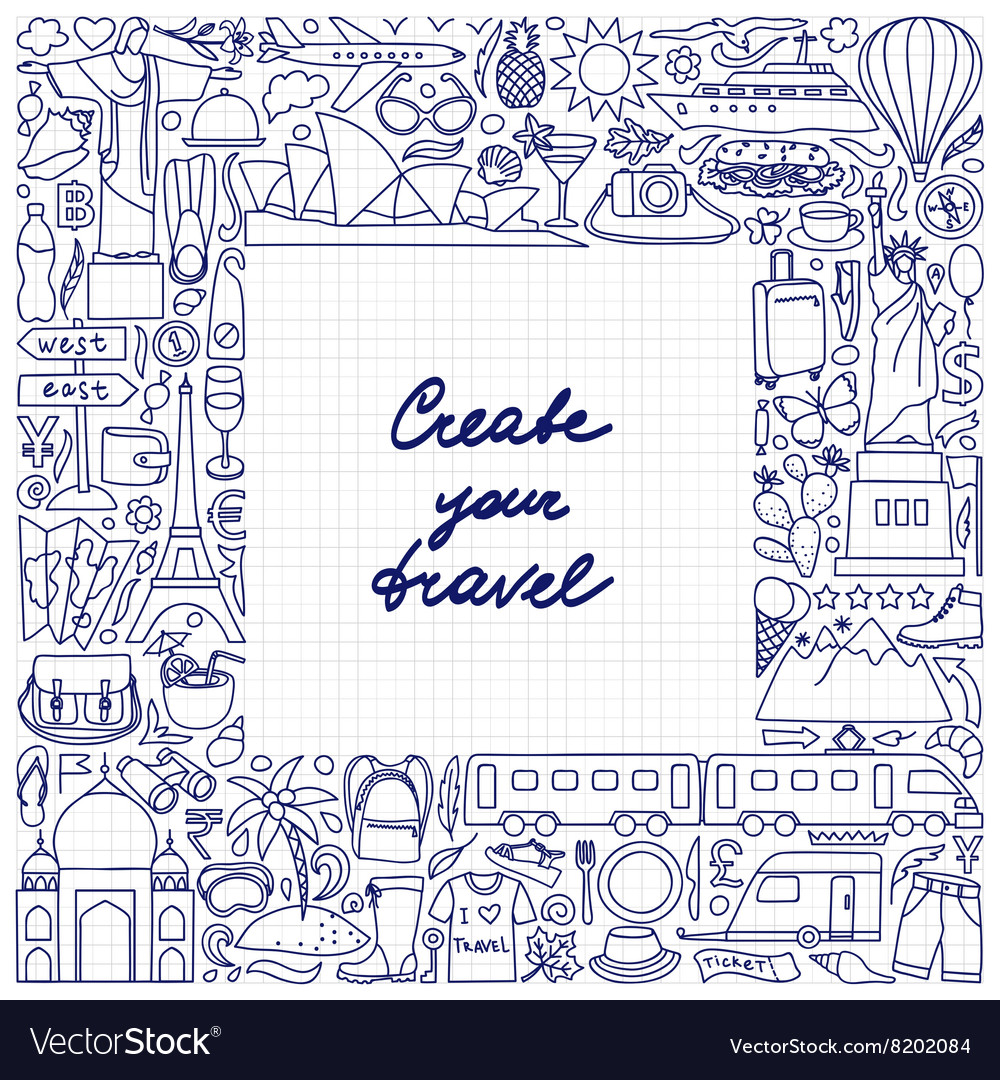 Create your travel Frame