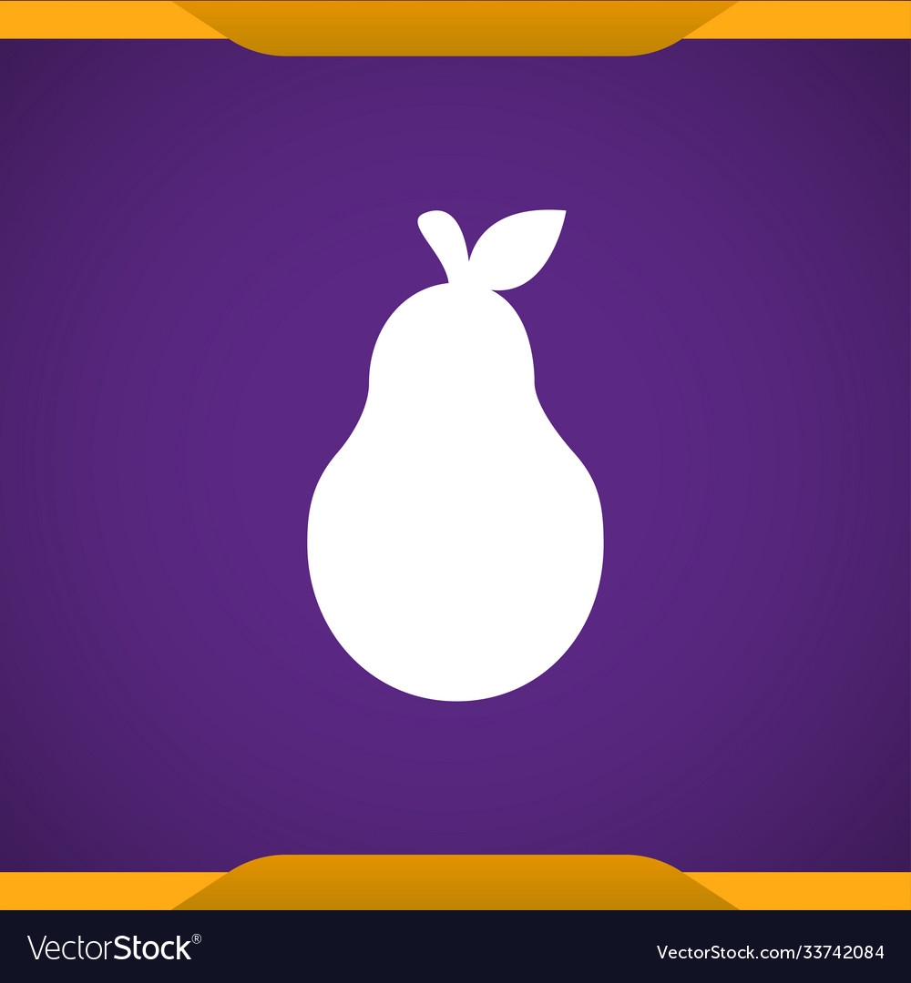 Pear icon for web and mobile