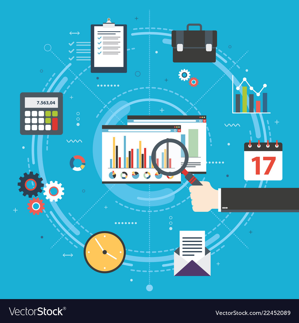 Financial strategy analytics with growth report