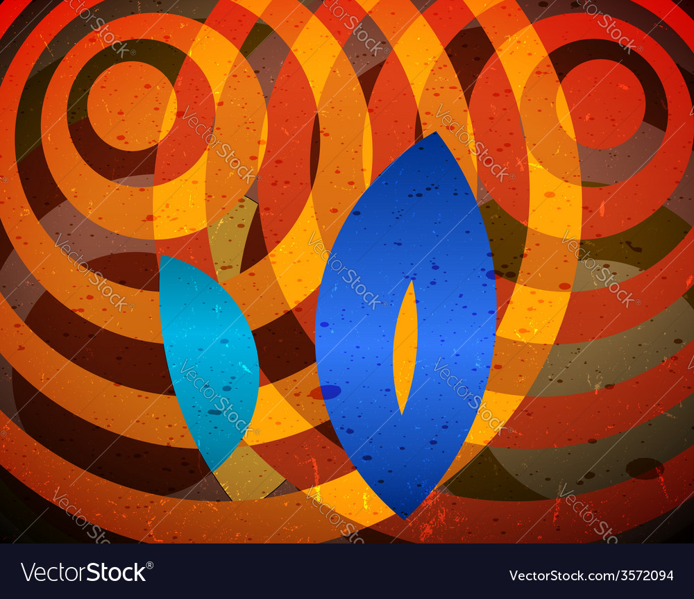 Abstract difraction view vector image