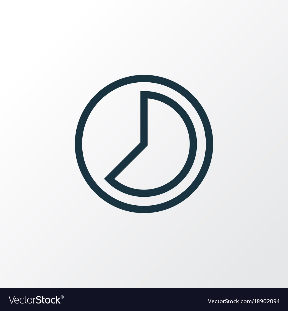 Accelerated icon line symbol premium quality