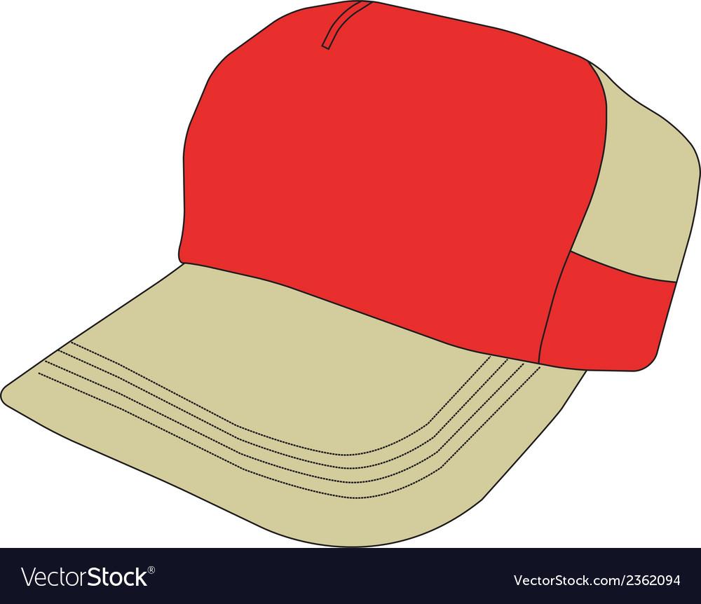 ee04e927974 Baseball Cap Clipart Design Royalty Free Vector Image