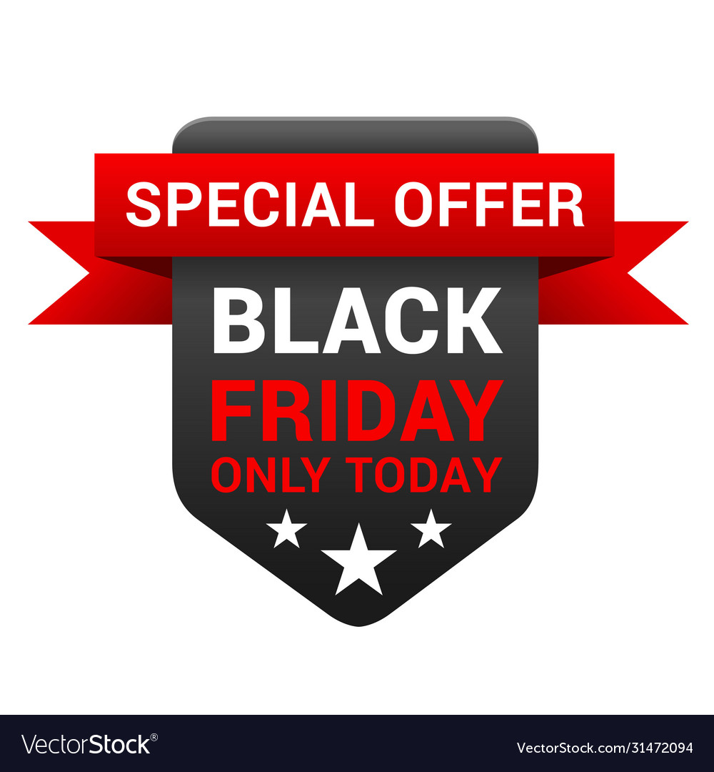 Black friday special offer discount and promo