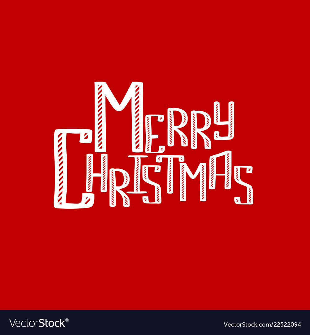 Merry cristmas inscription background