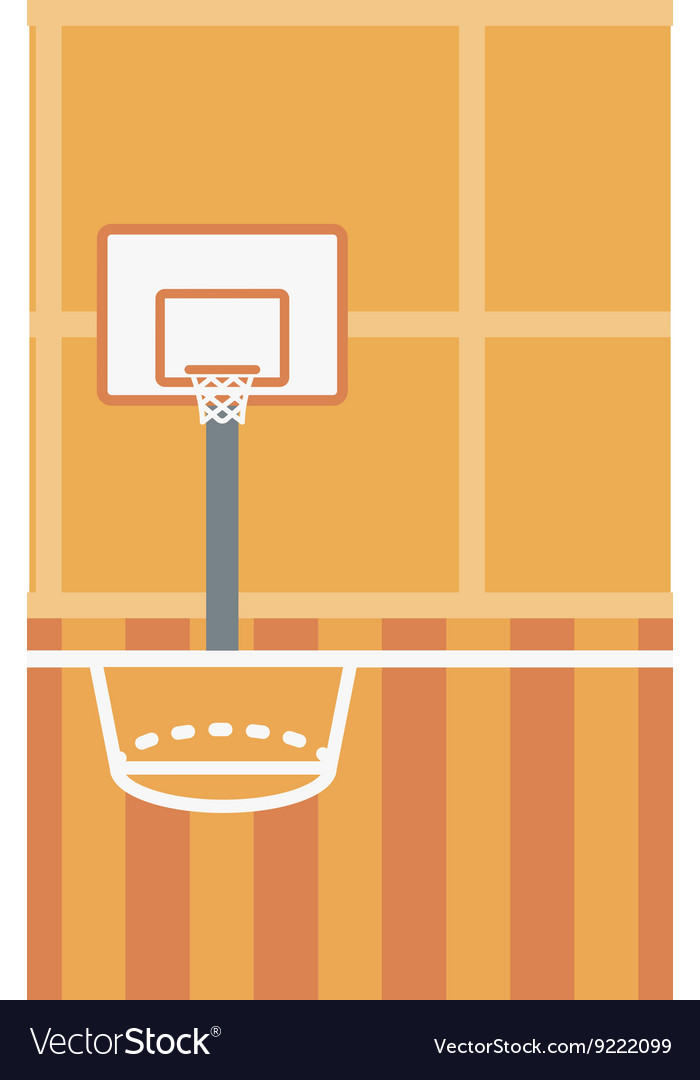 Background Basketball Court Royalty Free Vector Image