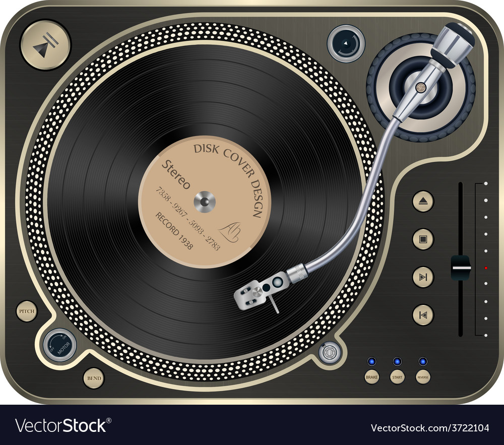 Interface Turntables on Whete Background
