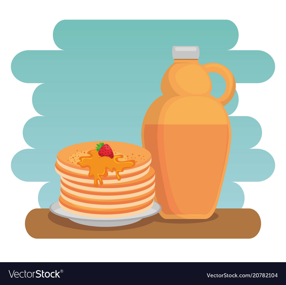 Maple, Syrup & Label Vector Images (38)