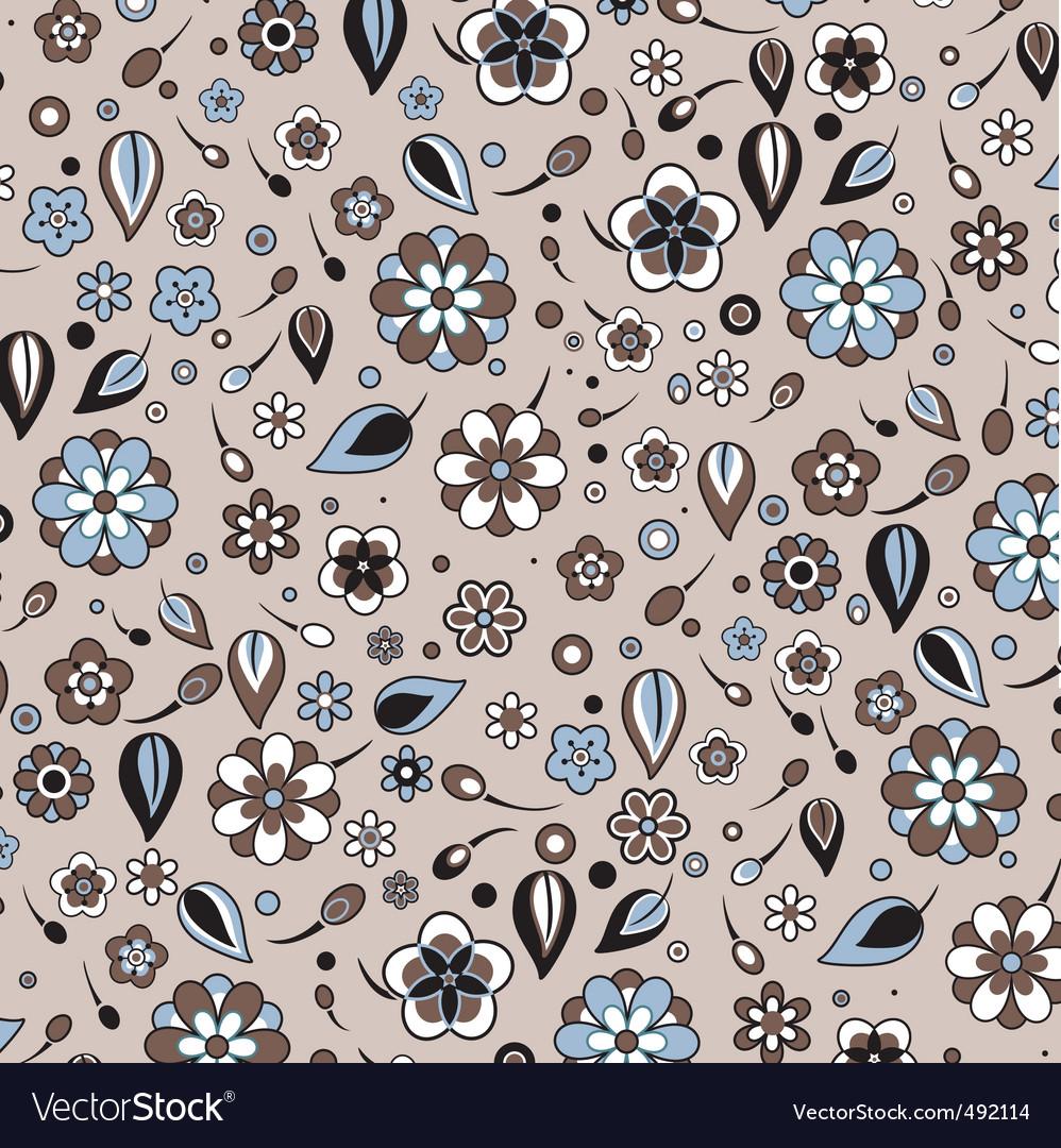 Retro pattern vector image