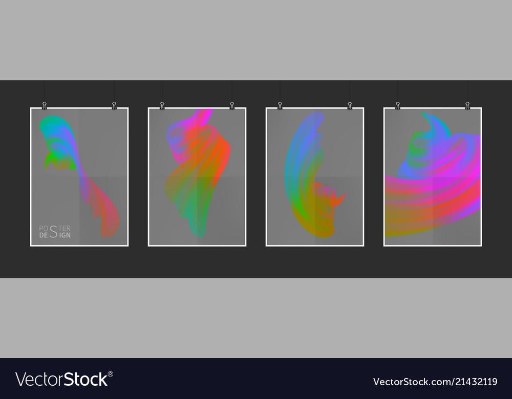 Stock multicolored realistic