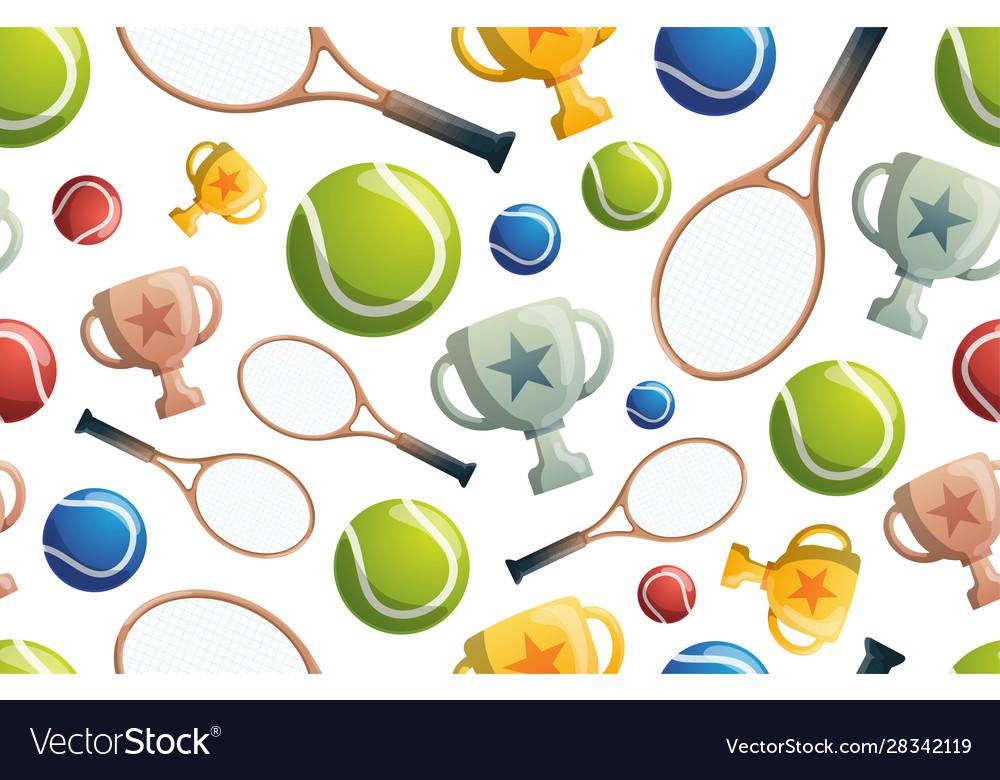 Tennis seamless pattern tennis seamless pattern