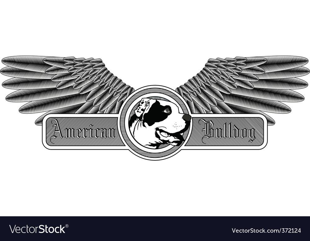 American bulldog logo