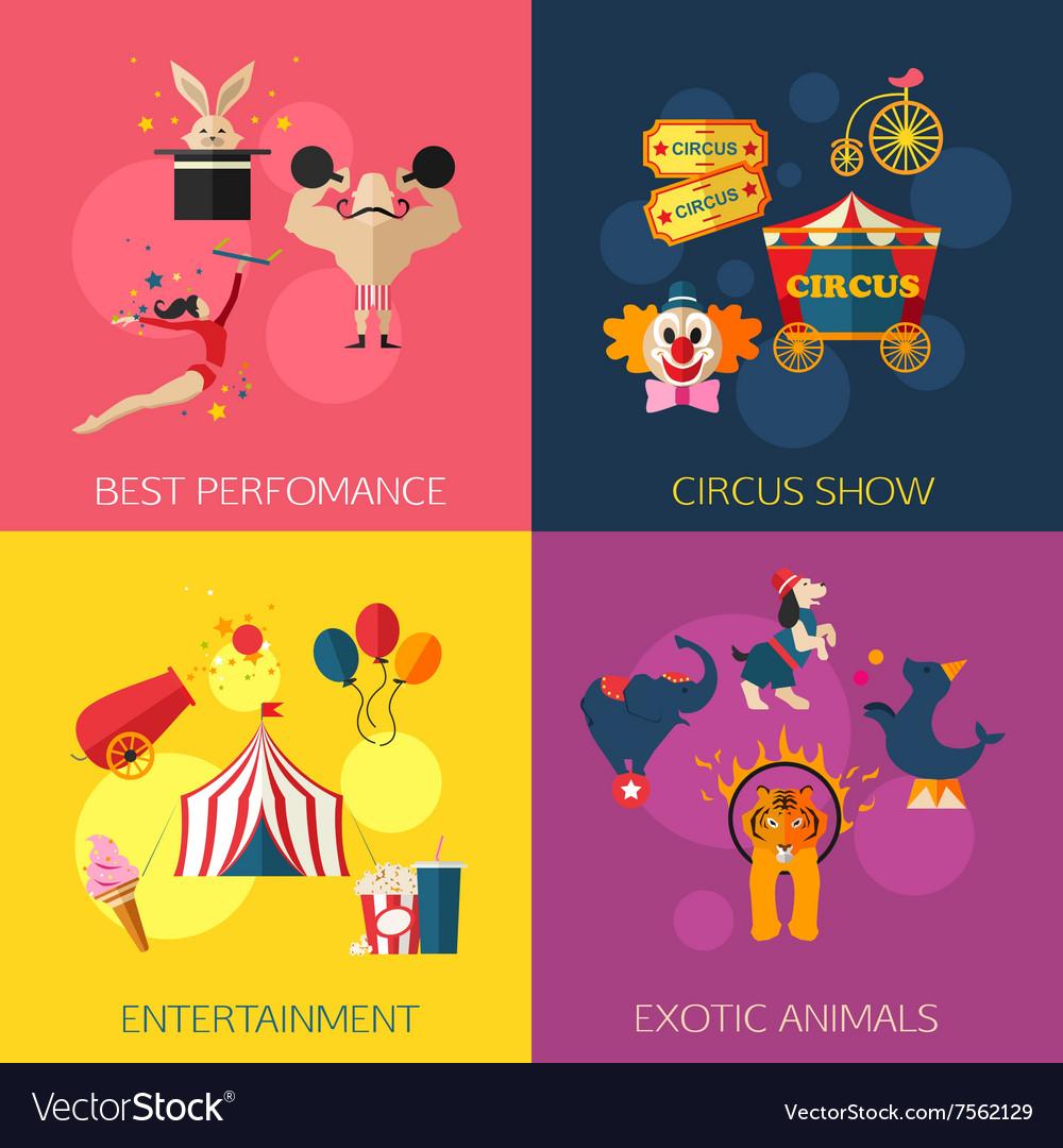 Circus performance entertainment exotic animals