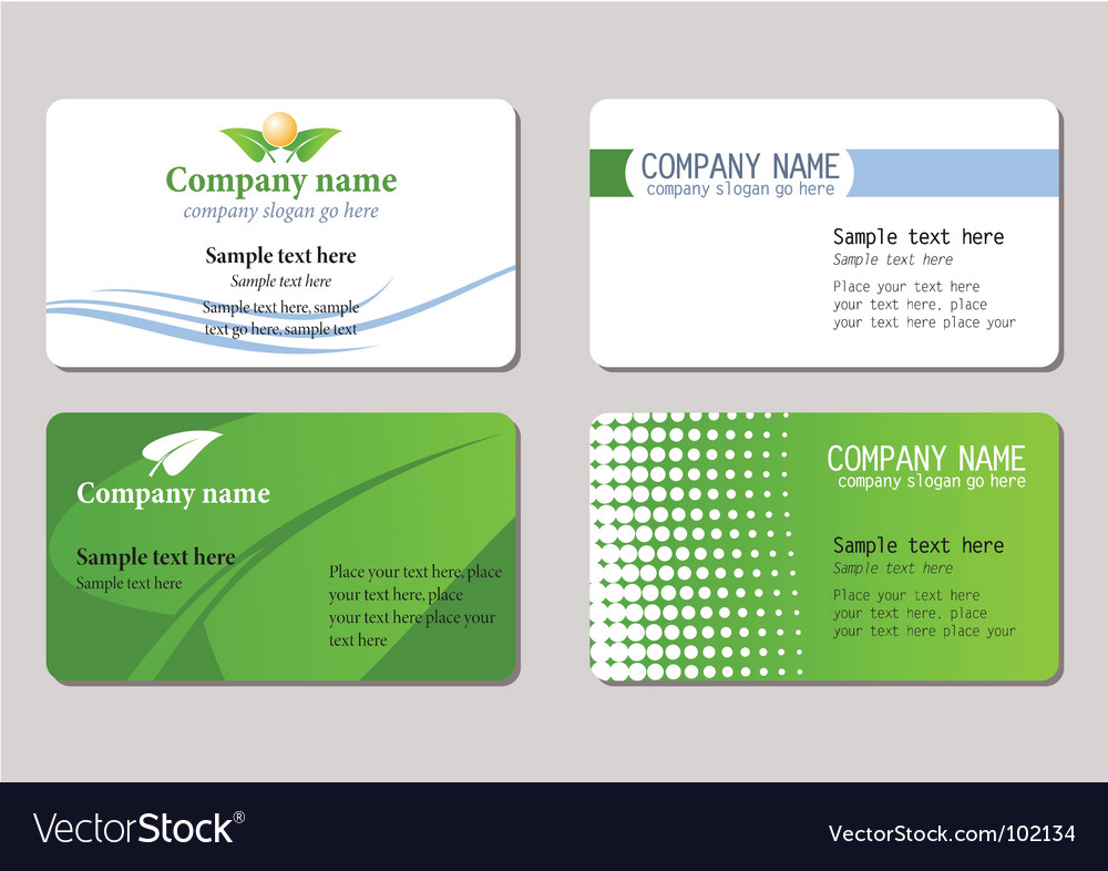 Business cards templates royalty free vector image business cards templates vector image fbccfo Choice Image
