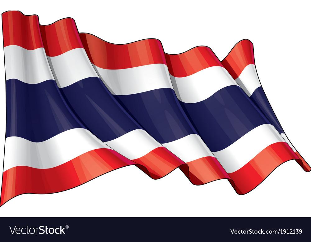 Thailand Flag Grunge
