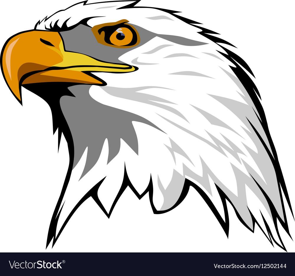 Eagle head Royalty Free Vector Image - VectorStock