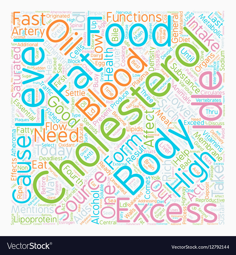 How to lower idle cholesterol text background