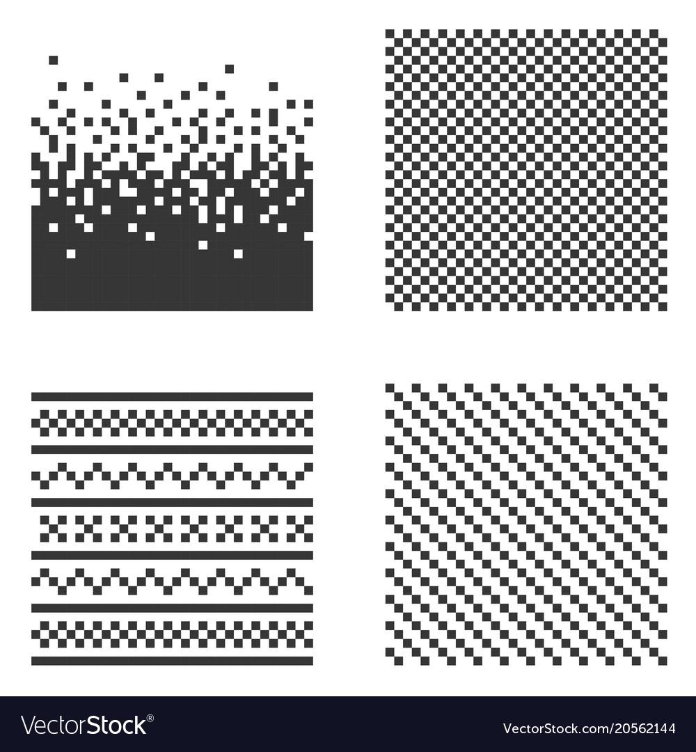 Pixel pattern set