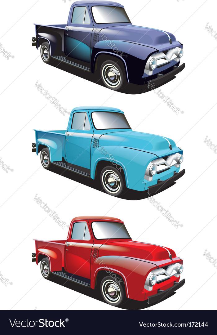 Retro style pickup