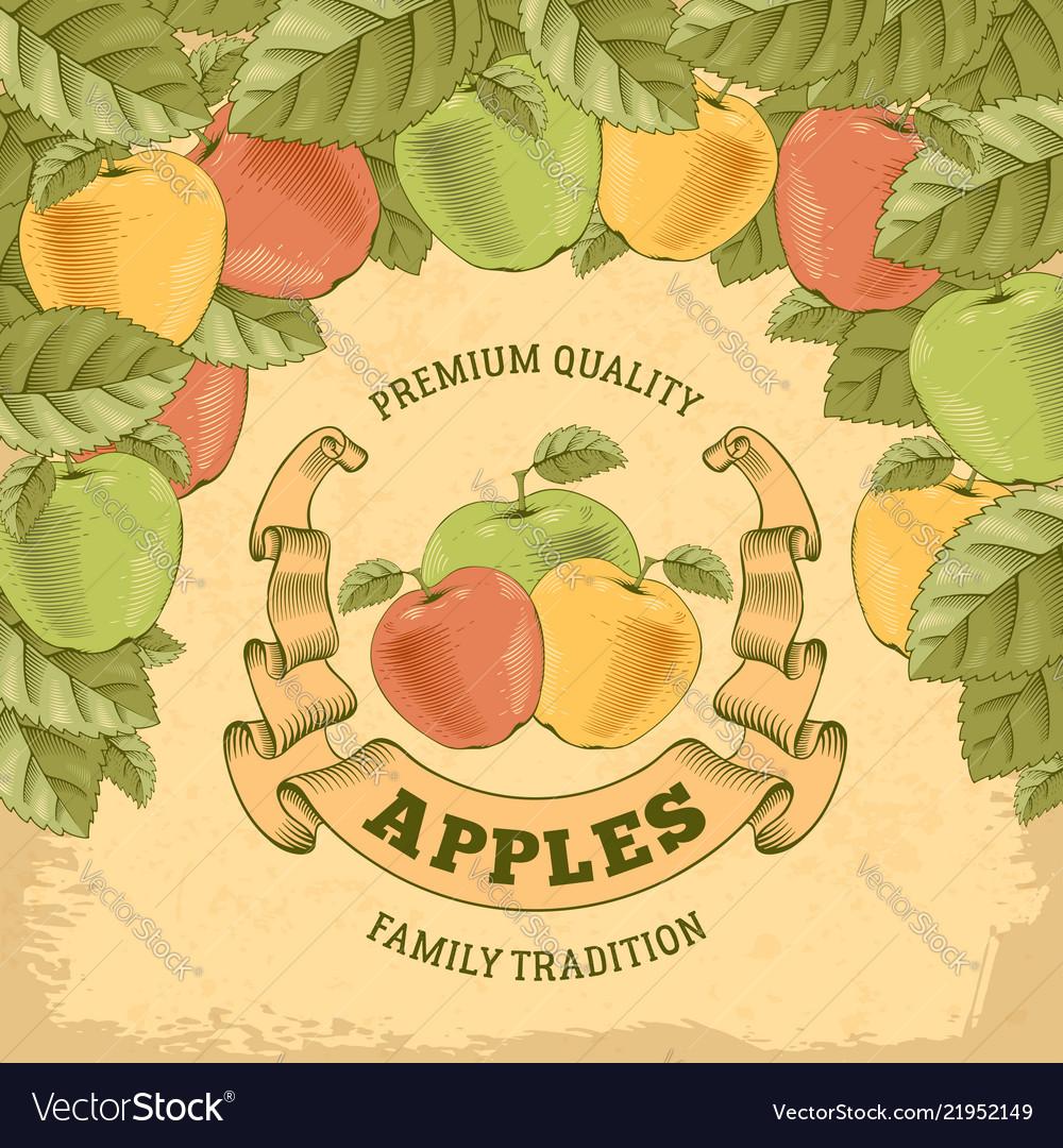 Apples label
