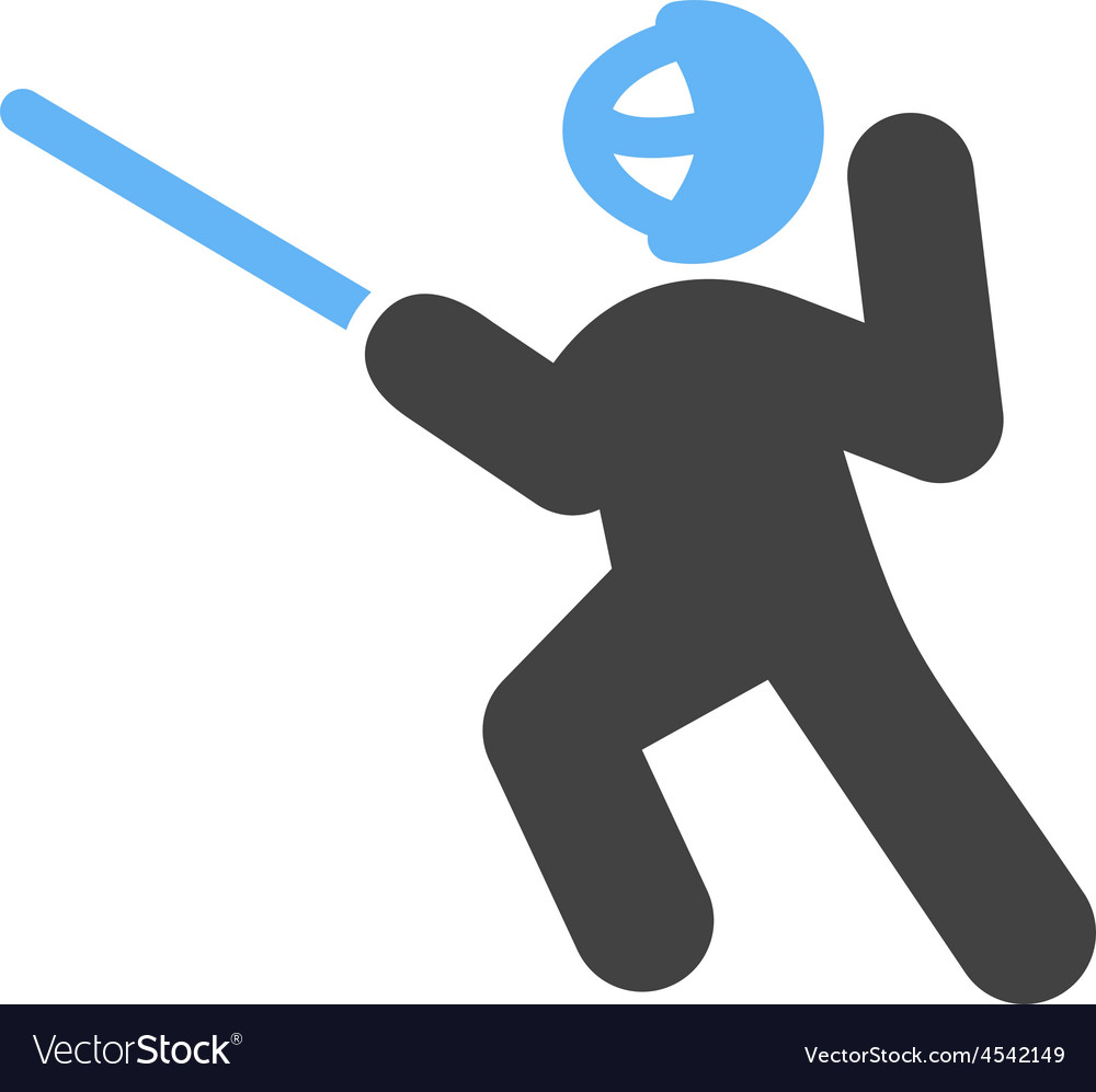 Sword Fighting Vector Image