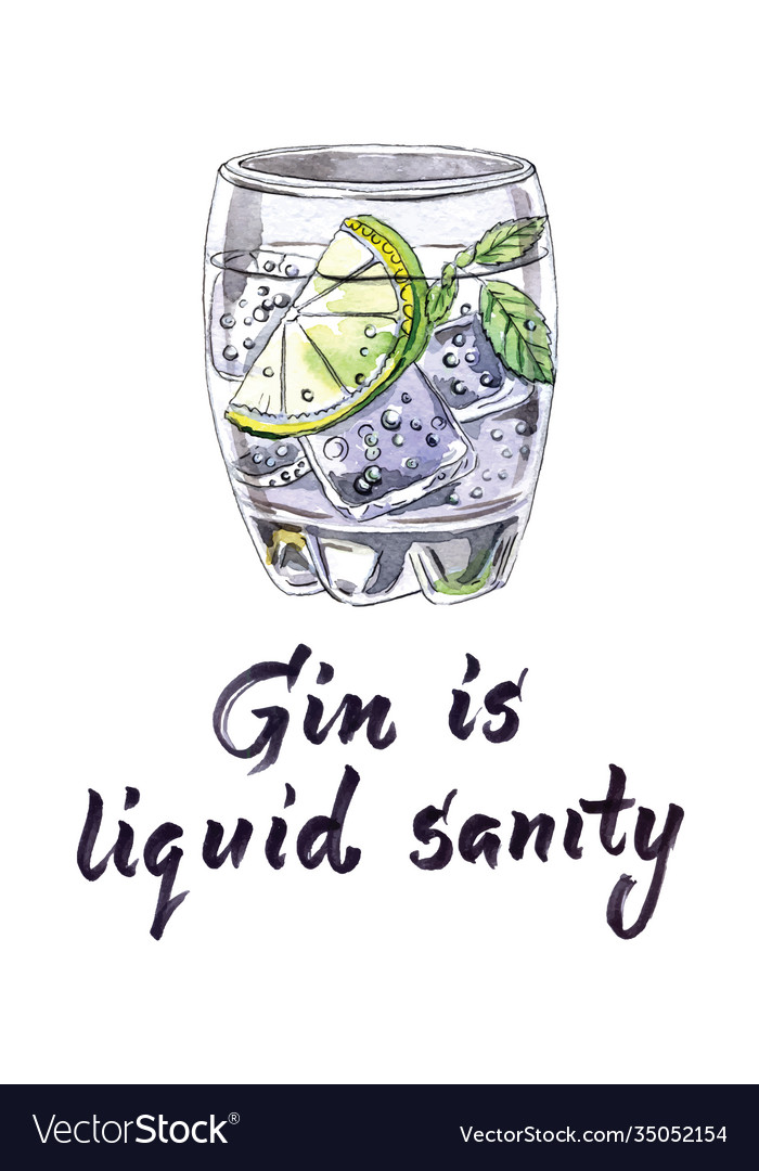 Gin and tonic therapy