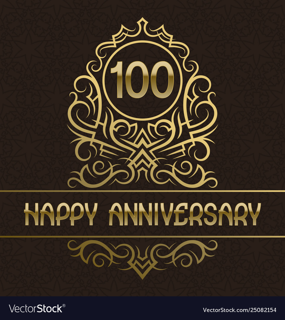Happy anniversary greeting card template for