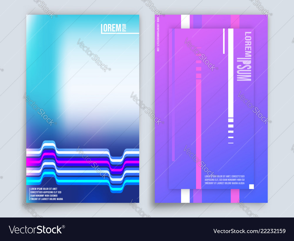 Abstract gradient background design for printing