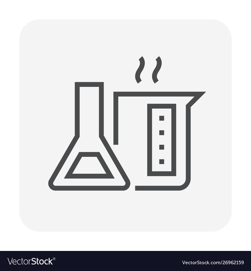 Chemical glass icon
