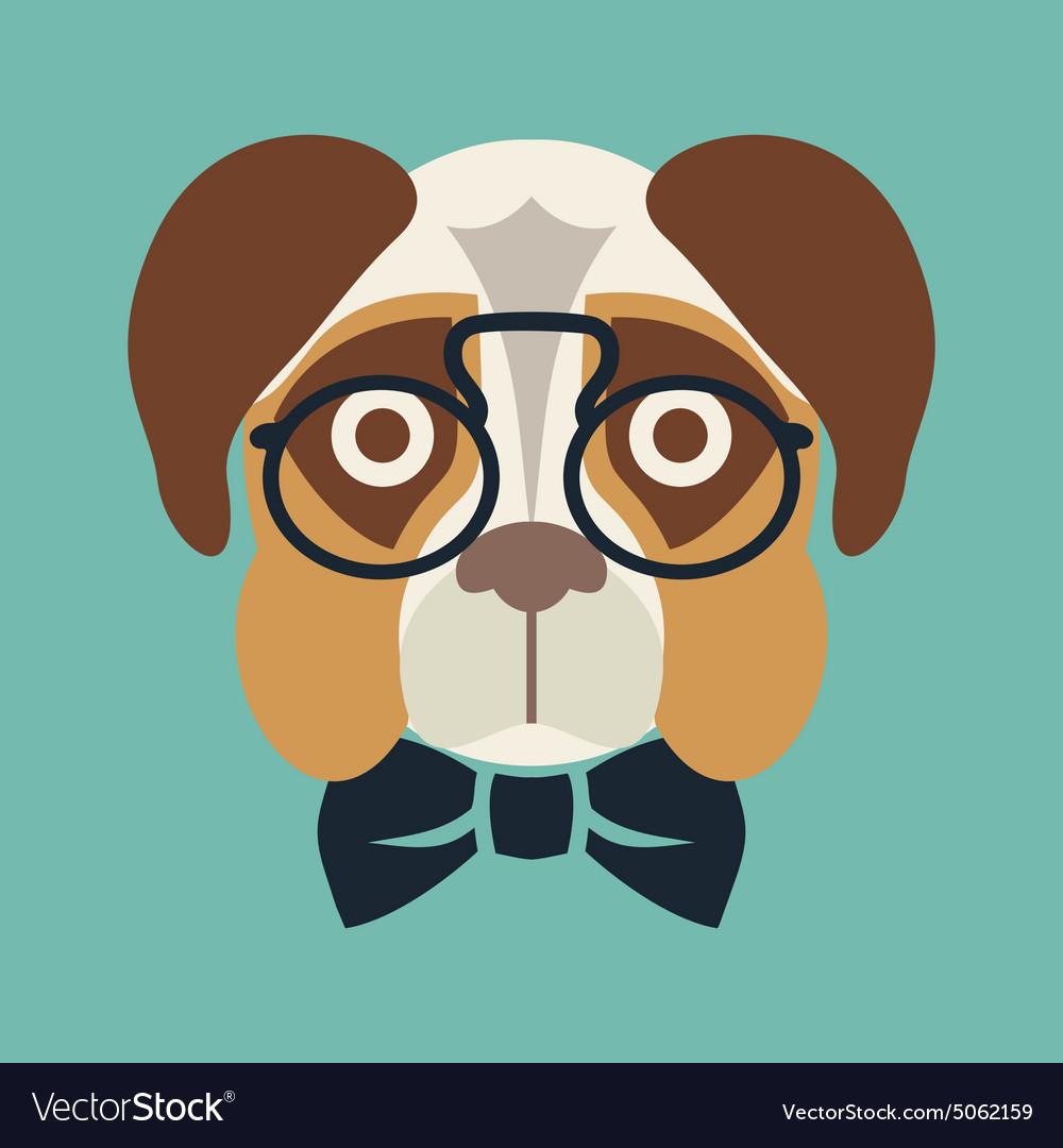Hipster dog resize
