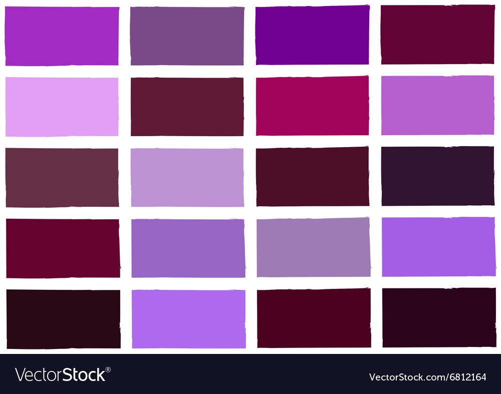 Purple Tone Color Shade Background Vector Image