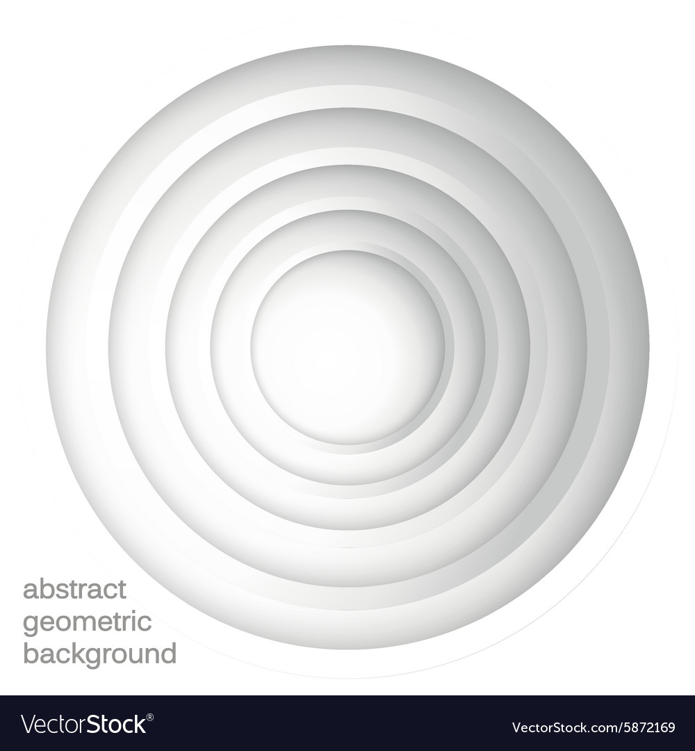 Abstract geometric background with circles