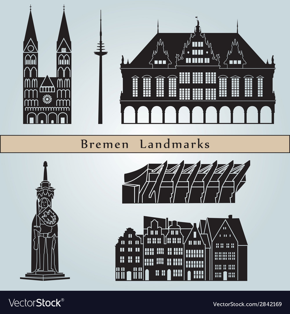 Bremen landmarks and monuments