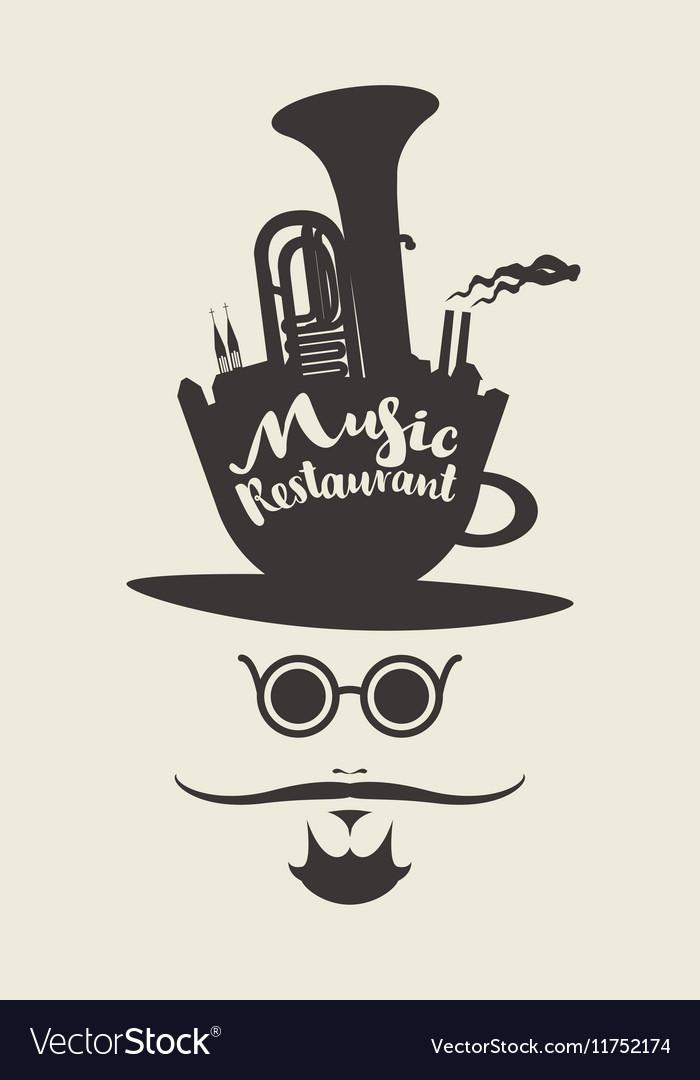 Banner for music restaurant