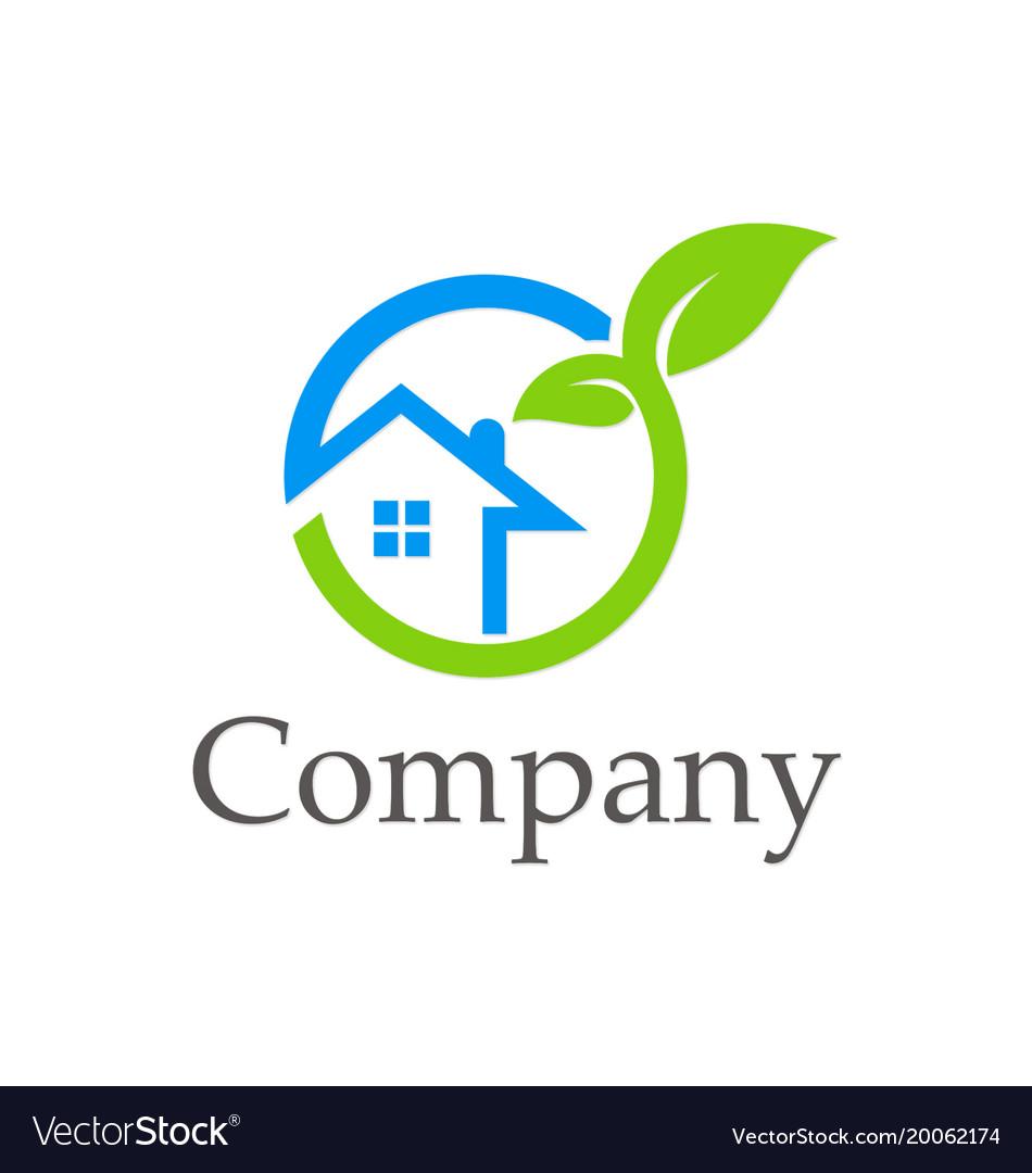 House ecology environment company logo