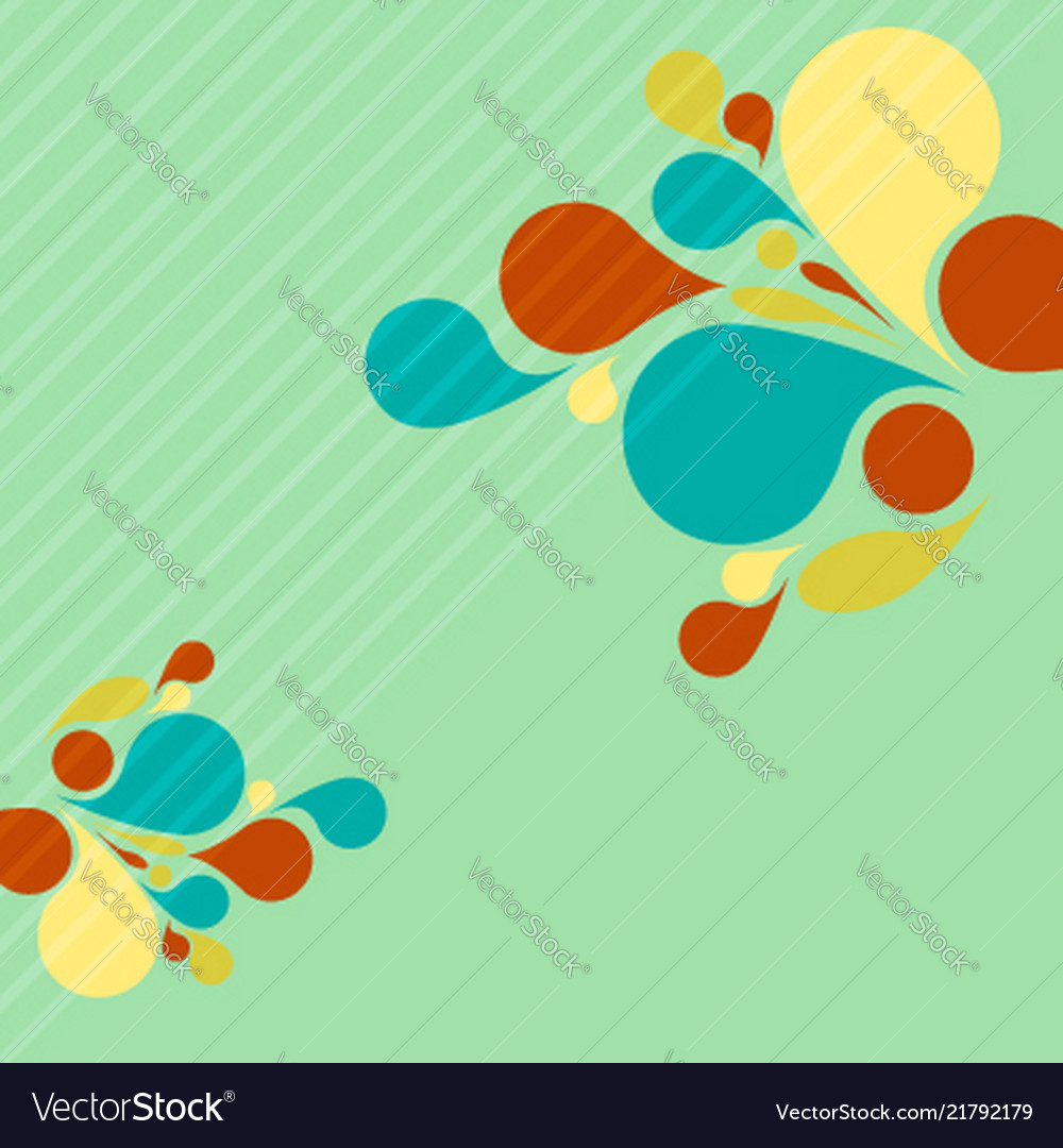 Colorful background for advertising