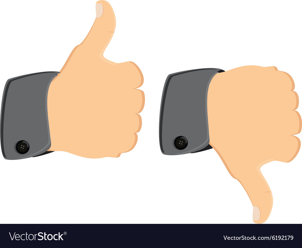 Thumb up down