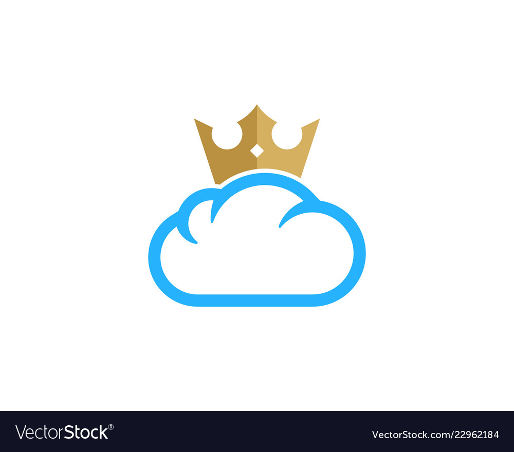 King weather and season logo icon design