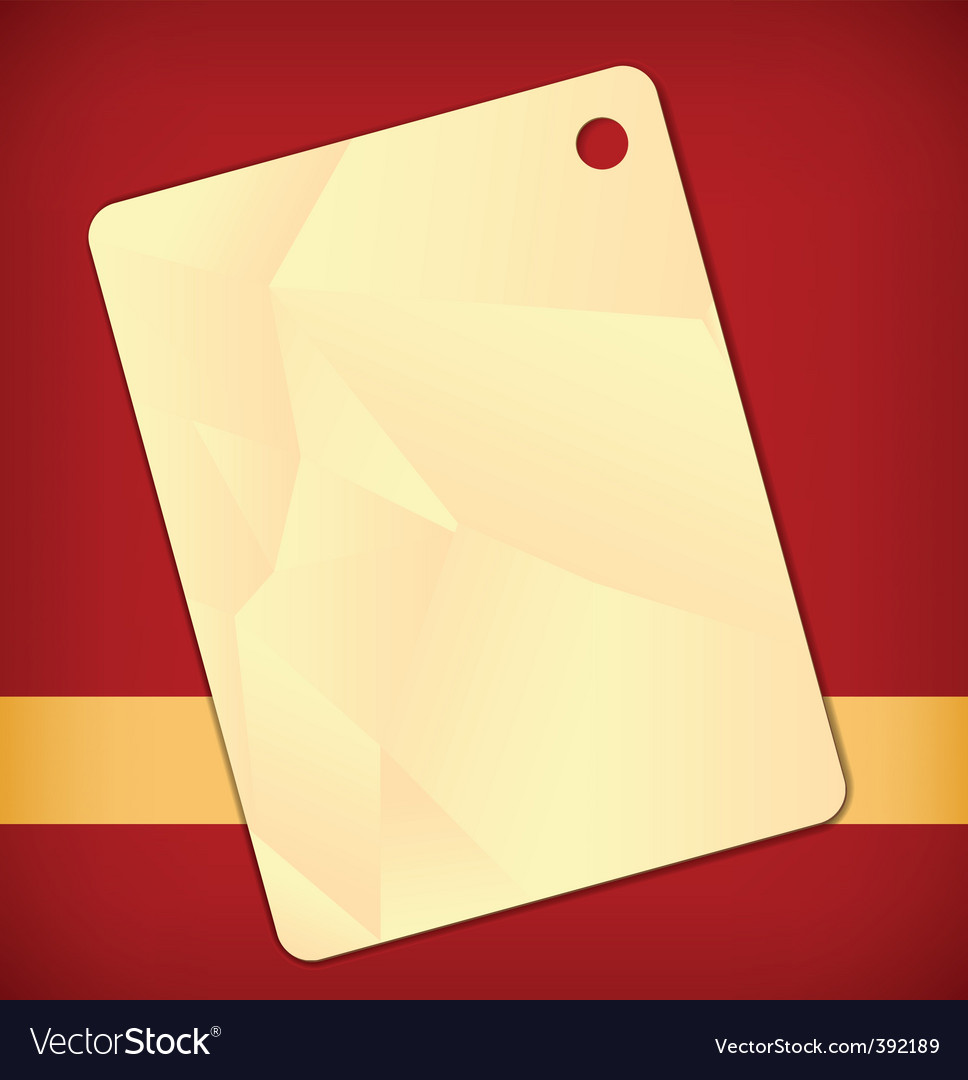 Label background vector image