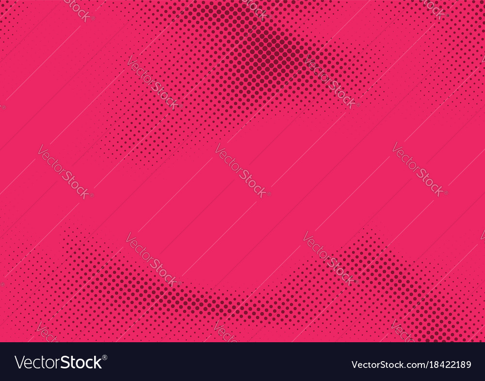 Pink dotted old style pattern background template