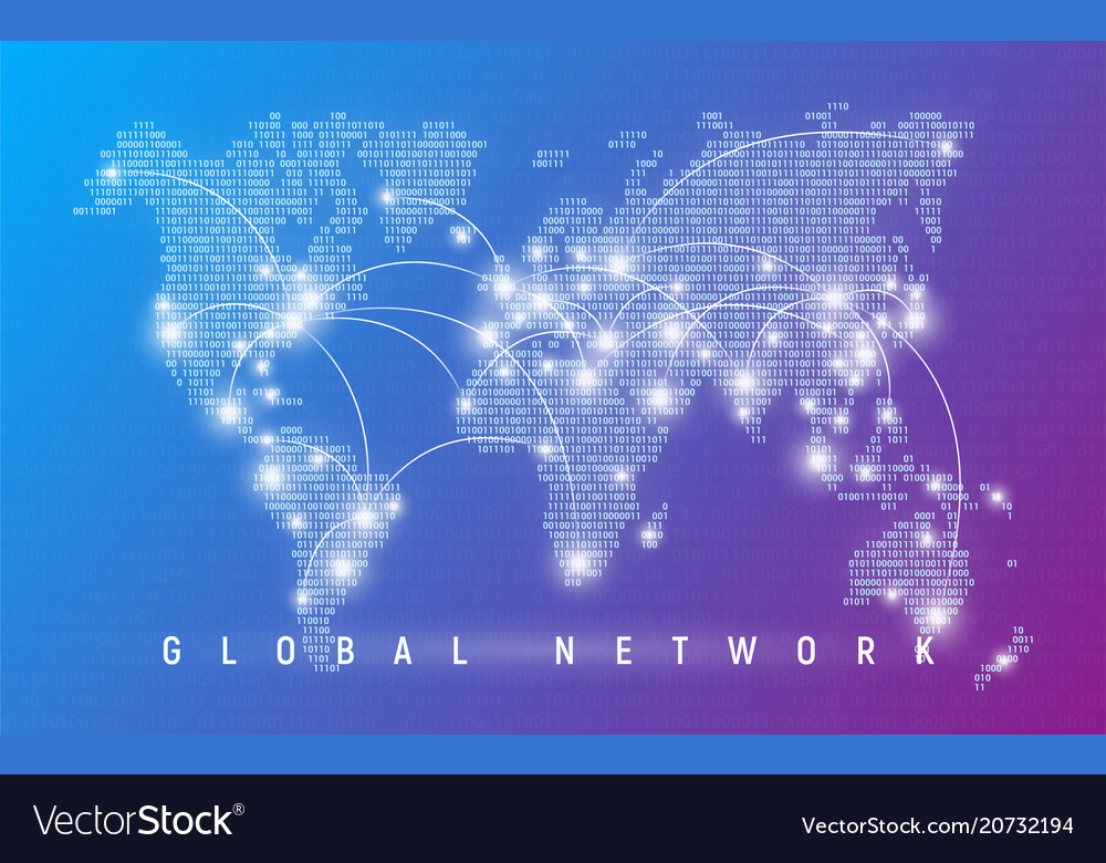 Global network worldwide communication and